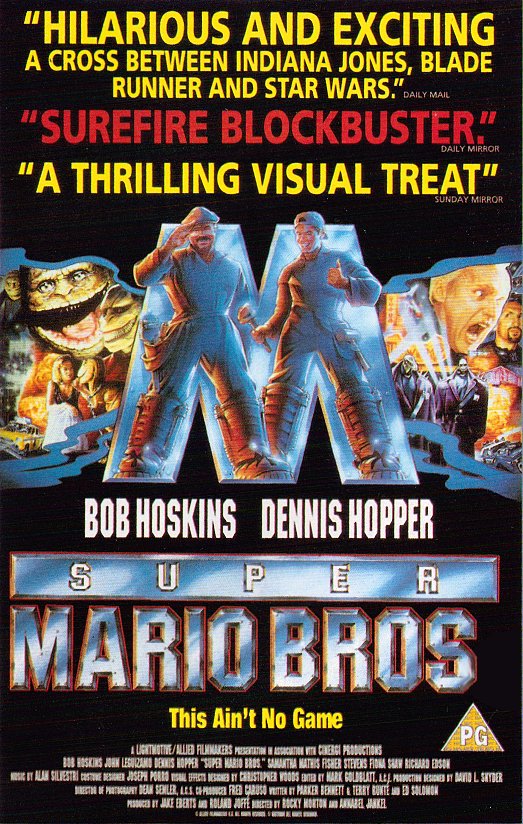 Super Mario Bros  The Movie Archive -- Home Video Releases