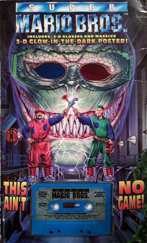 Super Mario Bros The Movie Archive Posters