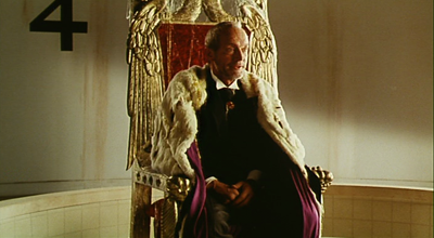 "Lance Henriksen as ""The King"" in Super Mario Bros."