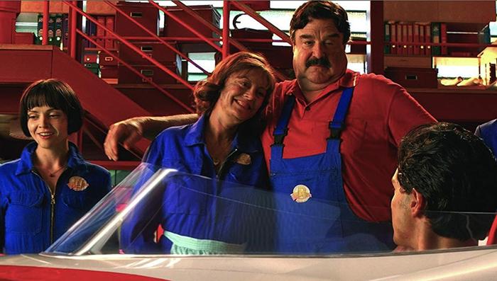 John Goodman as Pops in the Wachowskis' Speed Racer (2008)