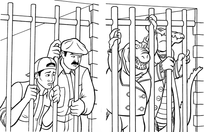 jailbird coloring pages - photo #22